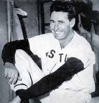 Hall of Famer Ted Williams, five-time winner