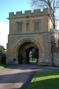 The Gatehouse, Tewkesbury Abbey - geograph.org.uk - 319431.jpg