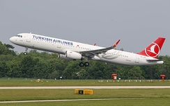 Turkish Airlines, flag carrier of Turkey, has been selected by Skytrax as Europe's best airline for five years in a row (2011–2015).[290][291] With destinations in 126 countries worldwide, Turkish Airlines is the largest carrier in the world by number of countries served as of 2016[update].[292]