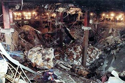 Underground damage from the 1993 bombing