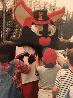 Wild Fang, Red Wings mascot from 1992 to 1997.