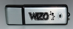 The German band Wizo's Stick EP, released in 2004, was the first album released on a USB stick.
