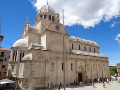 Cathedral of St. James in Šibenik was included on the UNESCO Cultural World Heritage List in 2000