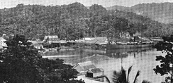 Wharves in Port Antonio, Jamaica, 1894