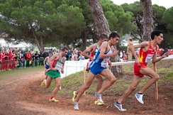 Runners at the 2010 European Cross Country Championships in Portugal