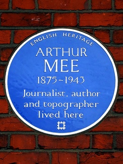The blue plaque at Tulse Hill.