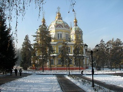 The Ascension Cathedral during Winter