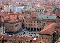 University of Bologna, located in Bologna, Italy, is the oldest institution of higher education in the Western world.[3][4][5]