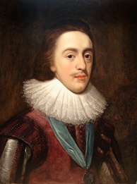 Portrait of Charles as Prince of Wales after Daniel Mytens, c. 1623
