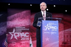 Grassley speaking at the 2016 Conservative Political Action Conference (CPAC) in Washington, D.C.
