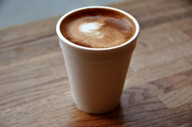 A cortadito is a popular espresso beverage found in cafeterias around Miami. It is particularly popular for breakfast or in the afternoon with a pastelito.