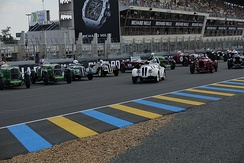 Le Mans Start at Le Mans Classic 2018