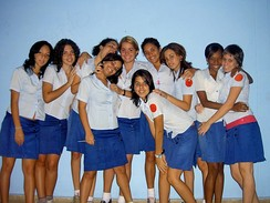 Students of the Escuela Lenin
