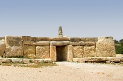 The Megalithic Temples of Malta such as Ħaġar Qim are built entirely of limestone. They are among the oldest free-standing structures in existence.[10]