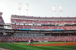 GABP opened in 2003, becoming the seventh home field for the Reds.