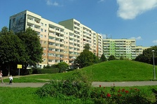 Apartment block residences built in People's Poland loom over the urban landscape of the entire country. In the past administratively distributed for permanent use, after 1989 most were sold to residents at discounted prices.