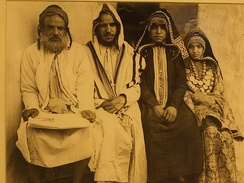 Jewish family portrait, early 20th-century (Yemen)