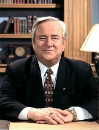 "Jerry Falwell, whose founding of the Moral Majority was a key step in the formation of the ""New Christian Right"""