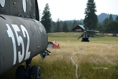 Oregon Army National Guard CH-47D Chinook helicopter