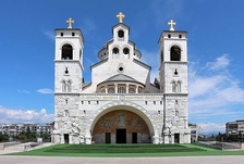 Cathedral of Podgorica.