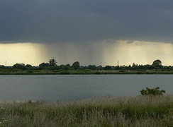 Rainfall in the Trent valley