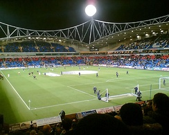 University of Bolton Stadium home of Bolton Wanderers.
