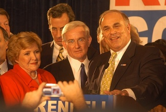 Rendell and Lieutenant Governor Knoll