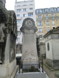 Grave in the Cimetière de Montmartre