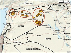 Airstrikes in Syria by 24 September 2014