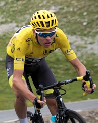 The 2017 Tour de France winner Chris Froome (Team Sky) was seen by many as the leading pre-race favourite.