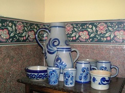 Typical everyday Westerwald pottery