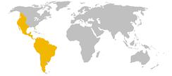 Ареал пумы