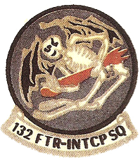132nd Fighter-Interceptor Squadron patch