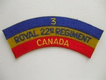 3rd Battalion, Royal 22e Régiment CFB Valcartier