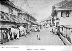 Cochin in Colonial times