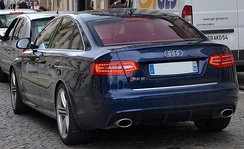 Audi RS6 saloon (France)