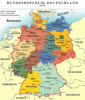 Germany in its modern borders