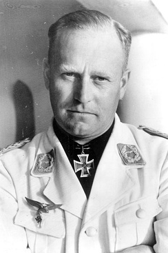 Oberst Edgar Petersen, the head of the Luftwaffe's Erprobungsstellen network of test facilities.