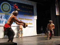 Performance of the Deer Dance