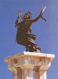 The integration monument in Dili was donated by the Indonesian government to represent emancipation from colonialism.