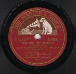 "British pressing of ""East St. Louis Toodle-Oo"" (1927)"