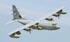 EC-130J Commando Solo which is used for PSYOP warfare