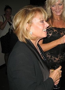 Elaine Paige at BBC Radio 2's Voice of Musical Theatre gala final in October 2006