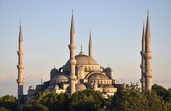The Blue Mosque of Istanbul was designed by Albanian architect Sedefkar Mehmed Agha.