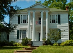 The George W. Towns House in Talbotton, Georgia was added to the National Register of Historic Places on May 7, 1973.