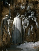 Study for The Judas Kiss by Gustave Doré, 1865