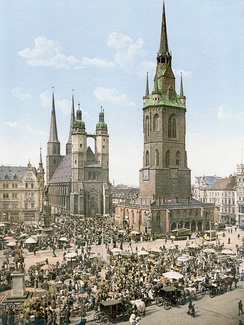 Halle about 1900
