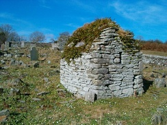Hermit's cell near Moville high cross, Republic of Ireland