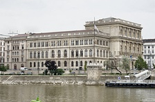 Hungarian Academy of Sciences seat in Budapest, founded in 1825 by Count István Széchenyi