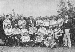 Despite its label as an England side, the team which toured South Africa in 1891 contained several Scots.